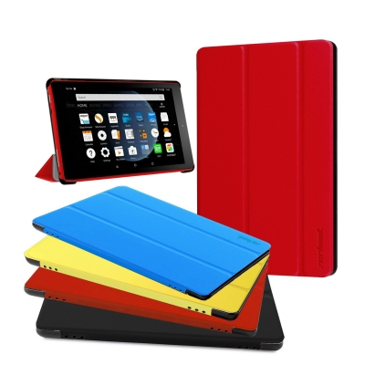 Fire HD 8 Case-Red