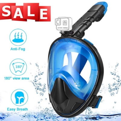 Foldable Snorkeling Mask-Black