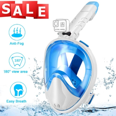 Foldable Snorkeling Mask-White