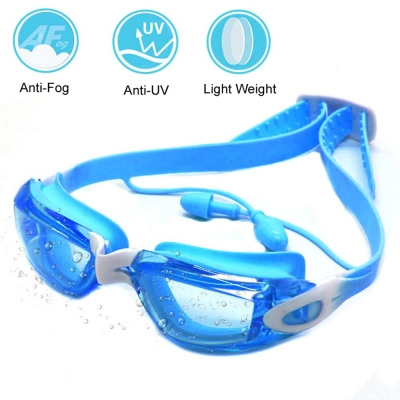 Swim Goggles for Kids-Blue