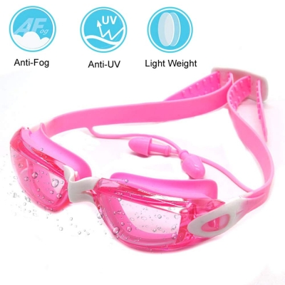 Swim Goggles for Kids-Pink